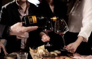 aprire il vino